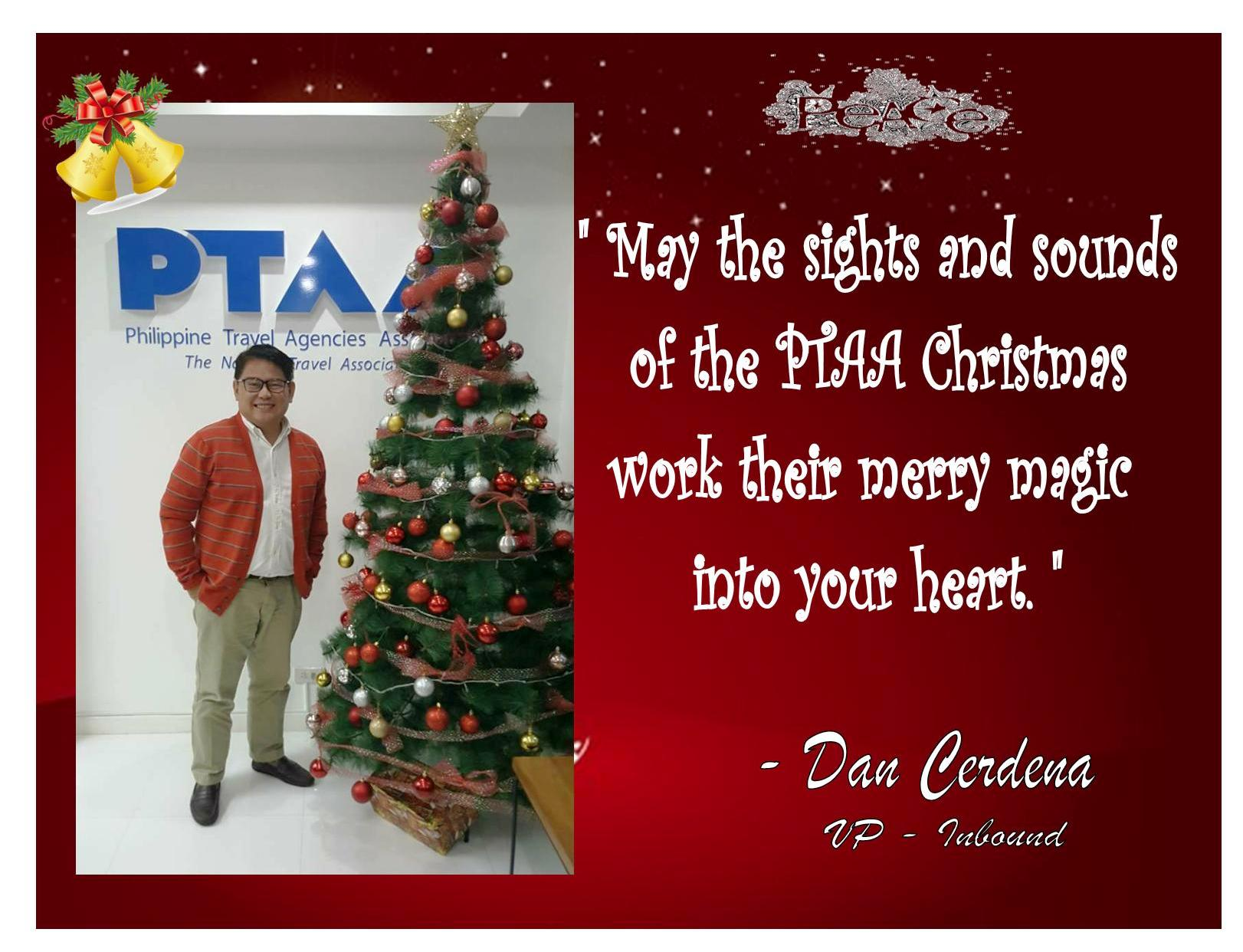 Christmas Messages Of Board Of Trustees And Members Ptaa
